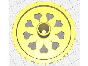 Imperfect wheel to fix toy prams