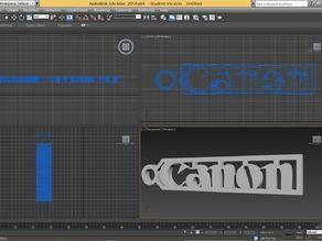 Canon Logo Keychain