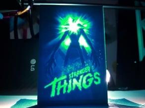 Stranger Things Lithophane Poster