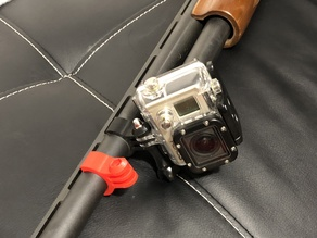 Shotgun GoPro Mount