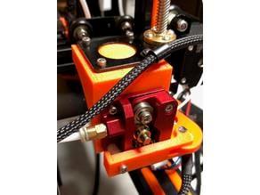 Anet E12 bracket for SIQUK MK8 Extruder upgrade