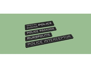 Police Badges For Vehicle