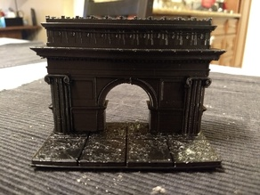 Openforge Arch of Triumph Vaulted Doorway