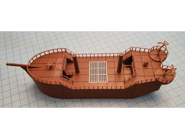 Dnd Prop Sailing Ship By Marcmartin3dnd Thingiverse