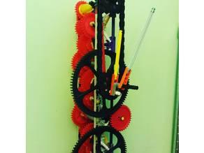 K'nex Clock gears