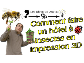 hotel à insecte modulable ( Modular insect hotel )