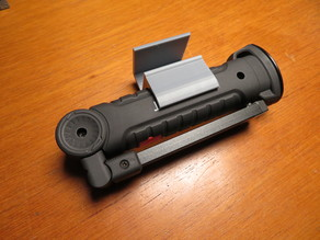 Cob Torch/Flashlight/Inspection Lamp Holder with built in Shelf Bracket