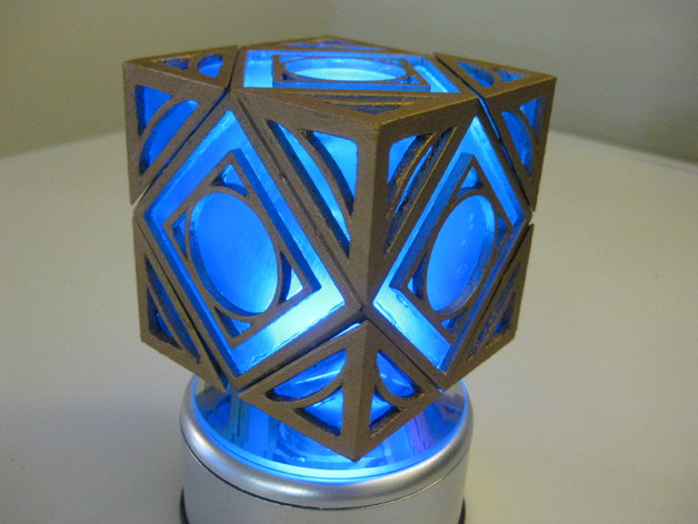 Unlocking Jedi Holocron By Monkey540 Thingiverse