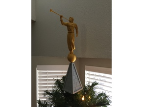 Christmas Tree Topper - Angel Moroni
