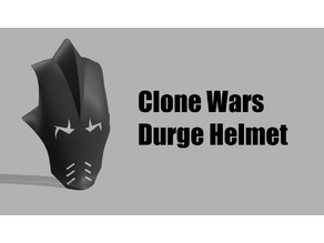 Durge Helmet - The Clone Wars 2003
