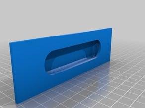 Inlay door handle