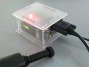 Laser cut Tekla Shield / Arduino enclosure