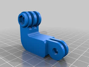 GoPro angle adapter
