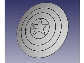 Decorative Captain America Shield