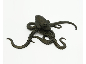 Plastic Reef #2: Random Octopus Generator