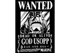 Wanted Poster Ussop