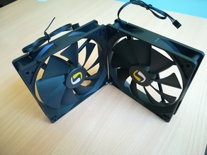 140mm fans joint 90 degrees
