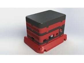 ePIc PlethoraPI Case ( Raspberry pi 2 and 3 case)
