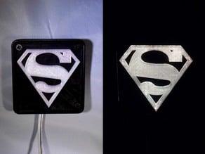 SUPERMAN LED Light/Nightlight