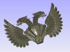 Harley double eagle logo