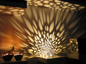 Voronoi Pearl Light Lamp No. 1
