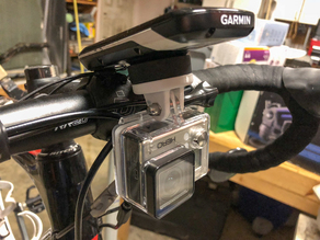 Garmin Bike Computer GoPro Mount