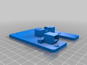plate with holder for pibot sensor