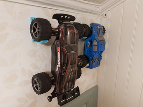 Simple wall mount for RC cars