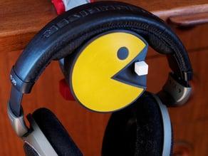 Pac-Man Headphone Mount or Desk Ornament