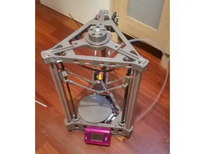Kyes120 - compact delta printer