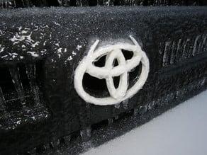 "'03-'05 Toyota 4Runner ""Devil Horns"" Grille Emblem"