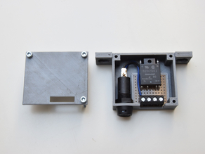 SSR - solid state relay for AC powered heatbed - selfmade (5€)