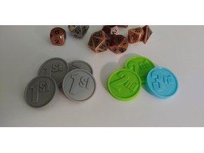 D&D Spell Slot Tokens