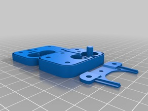 Drive block only for flexible filament