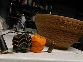 texture wheel wave