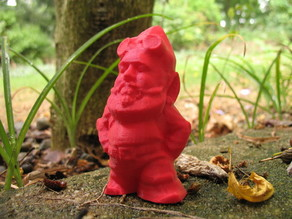 MakerBot Gnome -- Unmasked! (Gnomey Buser)