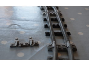 Lego Narrow Gauge Track Adapter