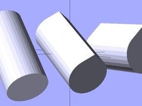 Parametric teardrop script
