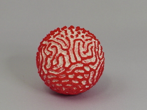 Reaction-Diffusion Ball