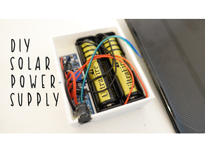 DIY Solar Power Supply