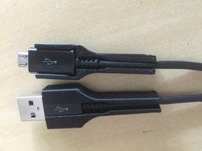 Samsung / Micro USB cable protector