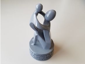 Mother's Day Sculpture with Message
