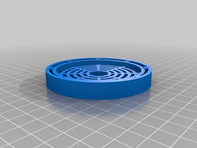 Sink Strainer / InSinkErator Food Waste Disposer Cover Grid By Vfalendysh    Thingiverse