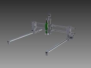 Foldable CNC