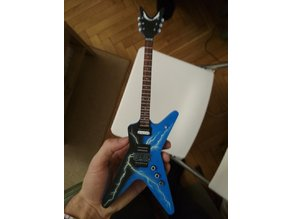 Dime From Hell mini Guitar model