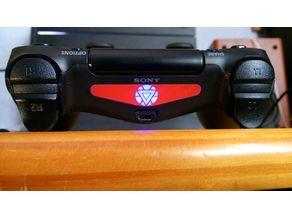 Ironman Sticker Ps4 laser cut