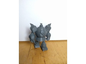 Golurk - 3D Print Ready