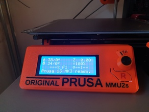Prusa mmu2s LCD cover