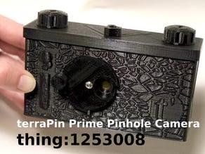 terraPin Prime 6X6 Pinhole Camera -120 Film