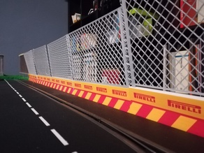 Safety wall - Muretto protezione